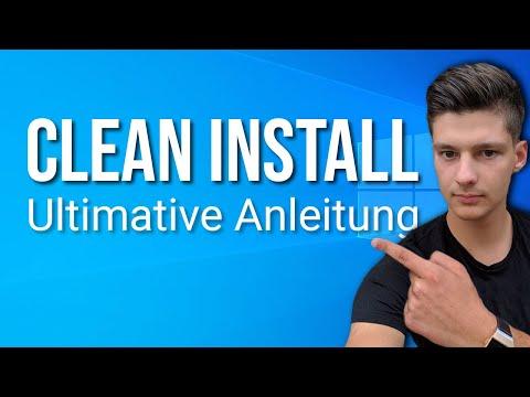 Windows 10 Clean Install Deutsch: So installierst du Windows neu!