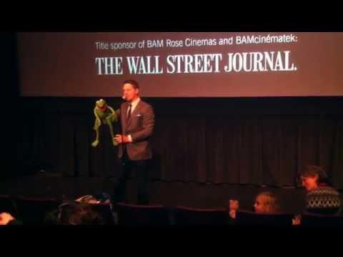 Matt Vogel et Constantine au Puppets on film festival 2014