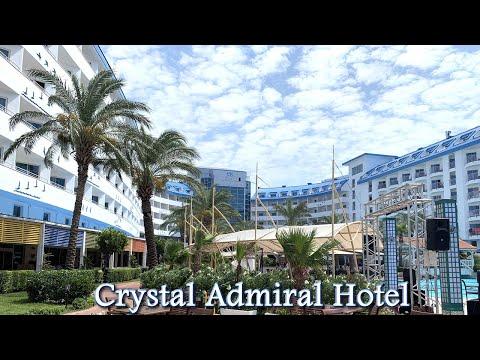 Crystal Admiral Resort Side | Yeme-İçme | Havuz | Deniz | Antalya 2019