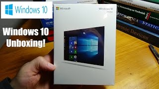 Microsoft Windows 10 Professional 32Bit/64Bit Unboxing, Review and process of installation