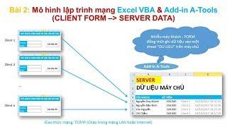 Kỹ thuật lập trình mạng trong Excel VBA và Add-in A-Tools P2