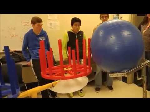 5119 Baryons Cap Ball Lift Test - Velocity Vortex FTC Robotics - YouTube 5624056a2e4