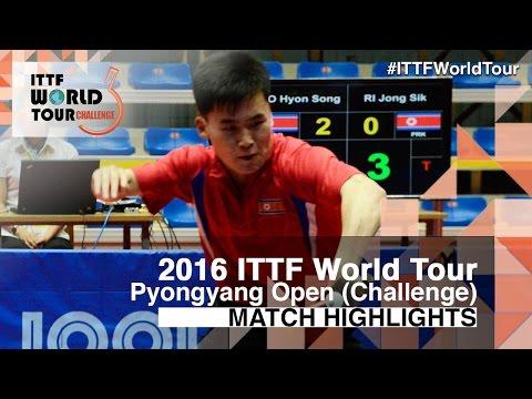 2016 Pyongyang Open Highlights: Pang Un Chol vs Ro Hyon Song (U21-Final)