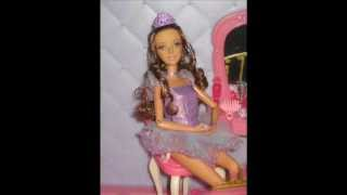 Barbie 12 Dancing Princess Castle and Barbie Swan Lake  Teresa Doll