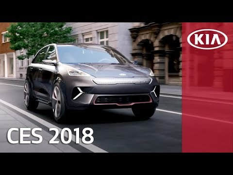 Kia Niro EV Concept gives CES hints of 2025's 16 EV plan