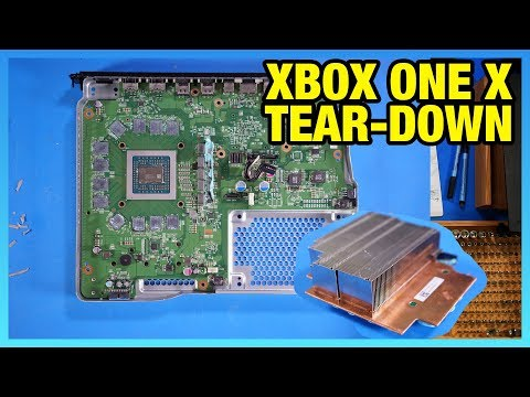 Xbox One X Tear-Down: Semi-Modular Console Design