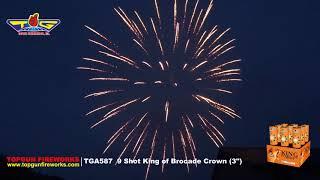 "King of Brocade Crown (3"")  TGA587"