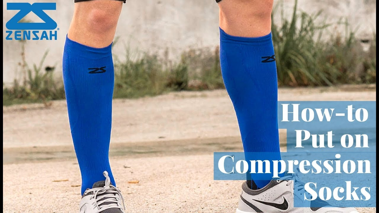 3c6a2dcfa3 How To Put On Compression Socks - YouTube
