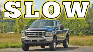 homepage tile video photo for 2000 Ford F 250 Superduty 7.3L Powerstroke Turbo Diesel: Regular Car Reviews