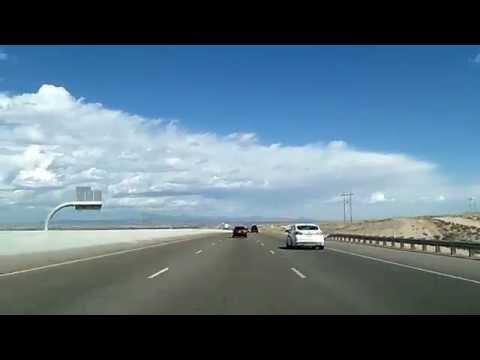 New Mexico Interstate 25: Albuquerque to Las Vegas NM Dashcam