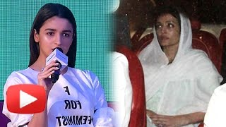 Alia Bhatt REACTS On Shaheen's Comment On Aishwarya Rai's Crying Photos At Krishnaraj Rai's Funeral