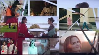 Музыкальное видео. Коллаж из клипов.