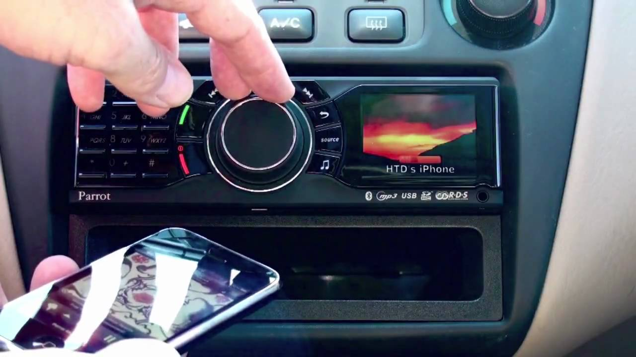 Car Stereo Bluetooth: Parrot RKi8400 In-Dash Bluetooth Car Stereo Reviewed By