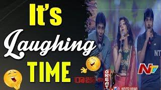 Hari Teja and Srinivas Reddy Funny Performance @ Raja The Great Pre Release Event || Ravi Teja