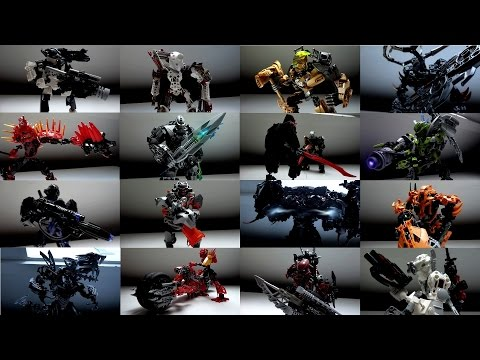 Masteryker's Collection v2 : Bionicle & Hero Factory MOCs (June 2016)