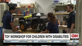 Students Create Toy Workshop For Kids With Disabilities