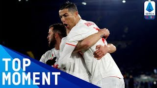 Ronaldo's 14th league goal of the season! | Roma 1-2 Juventus | Top Moment | Serie A TIM