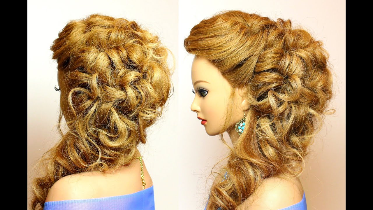 25 Bridal Hairstyles For Long Hair: Bridal Prom Hairstyle For Long Hair With Curls