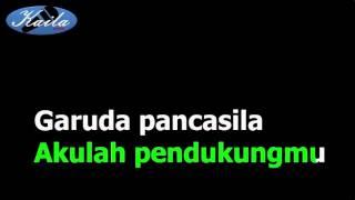 Sudharnoto - Lagu Garuda Pancasila (Versi Karaoke + Lirik Tanpa Suara)