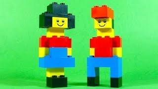 How To Make Lego Kids (boy & Girl) - 10664 Lego® Bricks And More Creative Tower Tutorial