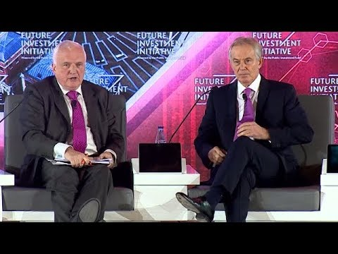 DAY1 - In conversation: The Right Honourable Tony Blair with Nik Gowing