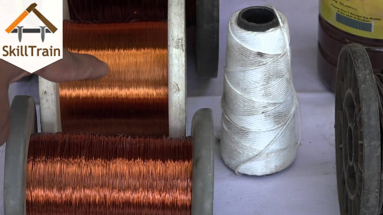 Consumables used in Motor Rewinding (Hindi) (हिन्दी) - YouTube
