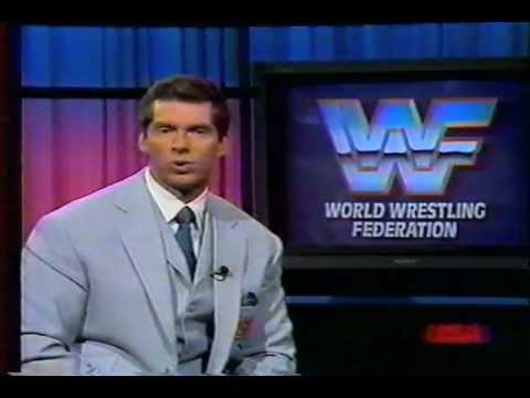 Vince McMahon Says NO to anabolic steroids and drugs Public Service Anouncement thumbnail