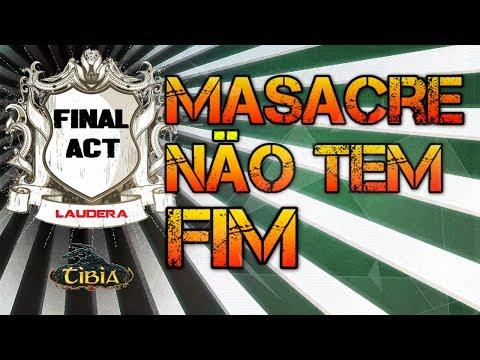 Tibia - Laudera War - Final Act vs Invictus #11 - Masacre não tem fim.