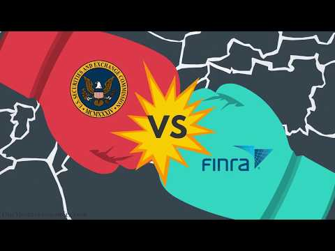 The Securities and Exchange Commission (SEC) vs. Financial Industry Regulatory Authority (FINRA)