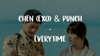 "Download Chen ft Punch - Everytime ""OST DESCENDANTS OF THE SUN"" (Sub Indo) Mp3"