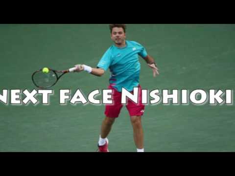 Wawrinka advances, to face lucky loser Nishioka