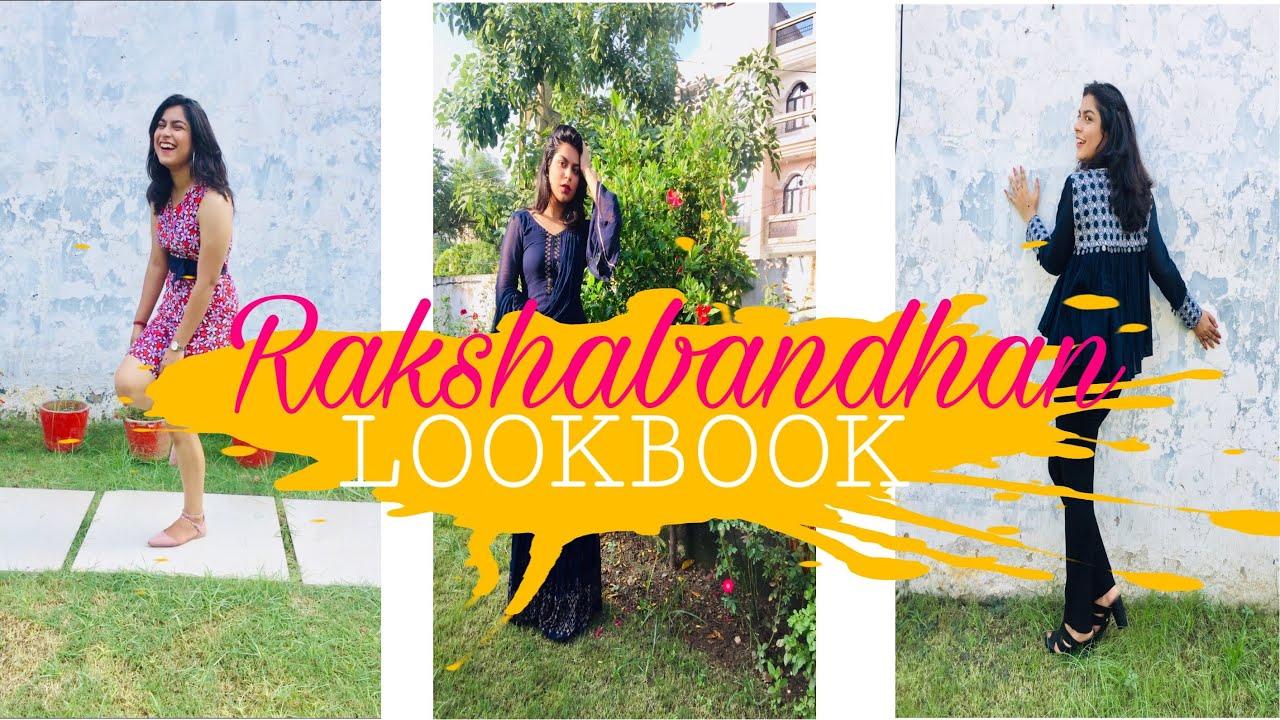 Confused what to wear on RAKHI ? RAKSHABANDHAN LOOKBOOK 2019   RUSHALI GROVER 1