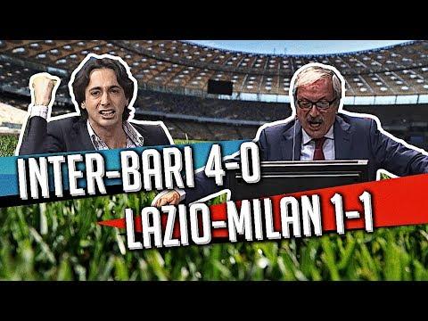 """Direttastadio 7Gold """"SCONTRO FRA TITANI"""" Inter-Bari 4-0  Lazio-Milan 1-1"""