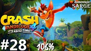 Zagrajmy w Crash Bandicoot 4: Najwyższy Czas (106%) odc. 28 - Pasażer na gapę