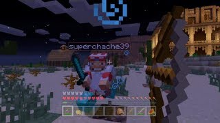 Minecraft Xbox - Hunger Games - GunSlinger - Round 2