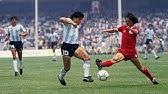 Maradona Vs Inglaterra 1986 Todas Las Jugadas Relatos Victor Hugo Morales Youtube
