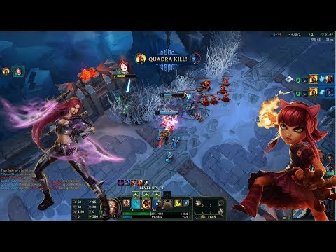 HOW TO ONE SHOT WITH WUKONG MID? League of Legends #01