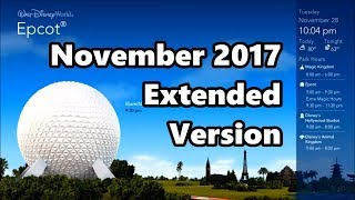 WDW Today November 2017 | Extended Version - HQ Audio | Walt Disney World Information Channel thumbnail