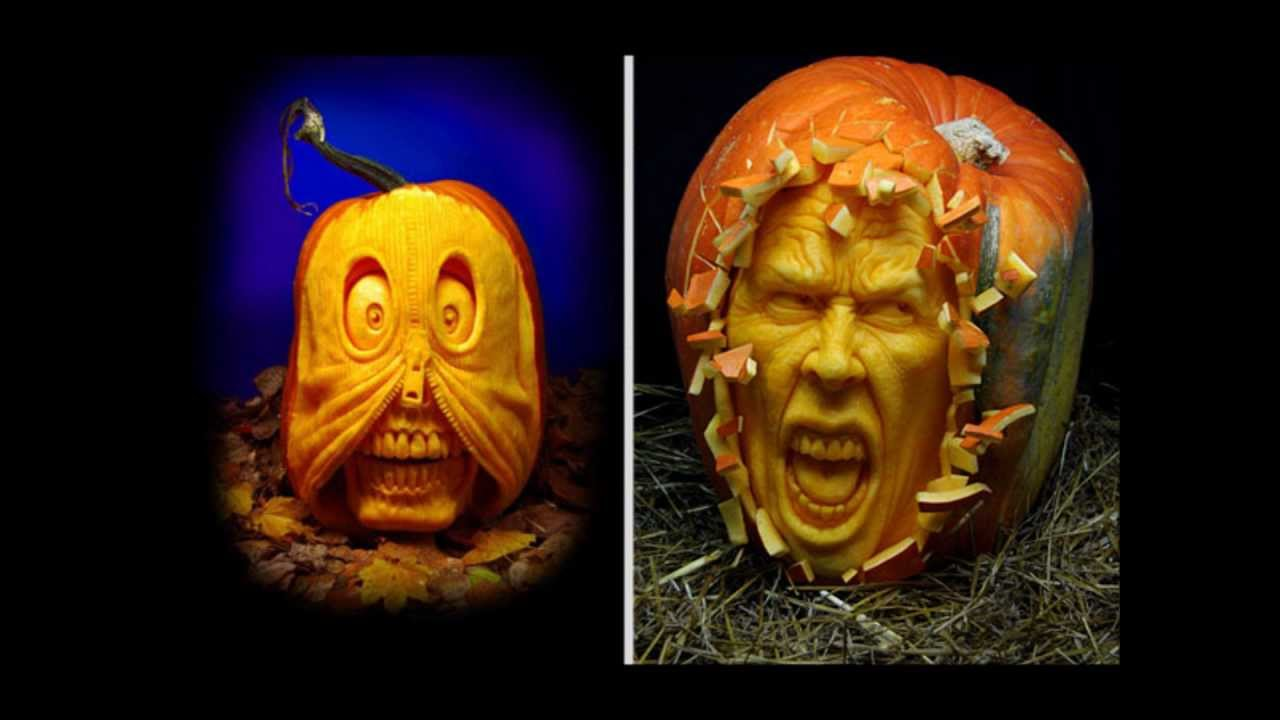 Amazing halloween pumpkin carving youtube - Breathtaking halloween decoration using batman pumpkin carving ...