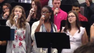 "SMV Vocal Jazz Camp Winnipeg 2015 ""Let Your Light Shine"" Finale"