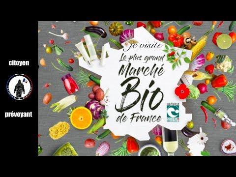 Je visite le plus grand marché bio de France