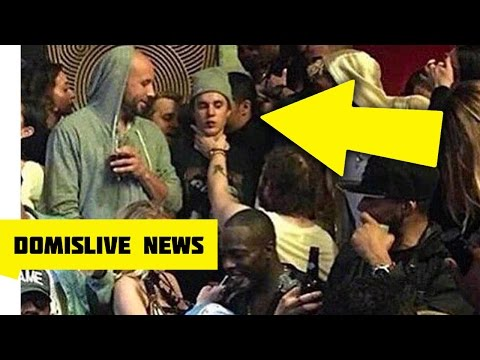 Justin Bieber Gets Choked By Post Malone, Odell Beckham Jr Watches Club Fight