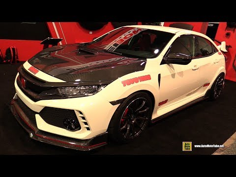 2017 Honda Civic Type R Seibon Carbon Customized - Exterior Walkaround - 2017 SEMA