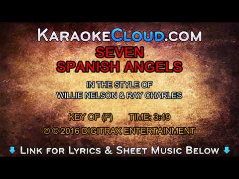 Willie Nelson w/ Ray Charles - Seven Spanish Angels (Backing Track)
