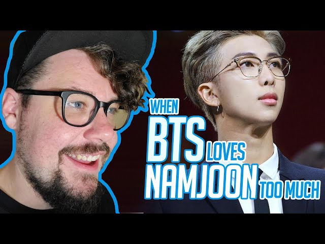 Mikey Reacts to When BTS loves Namjoon too much