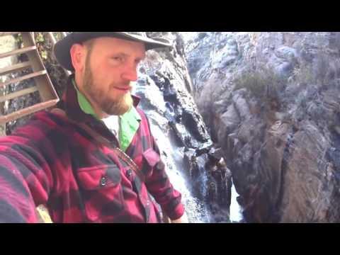 Climbing Frye Mesa Reservoir