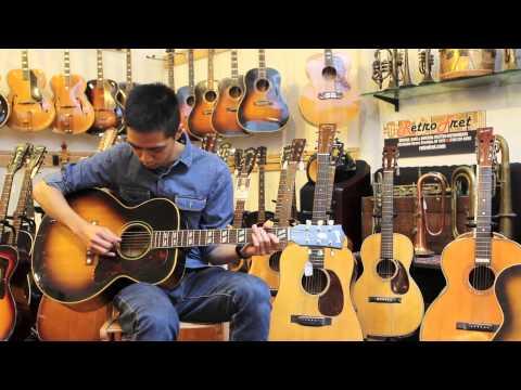 The Quintessential Strummer: 1951 Gibson J185 at Retrofret