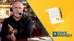 Dave Ramsey's Solution To The Student Loan Crisis