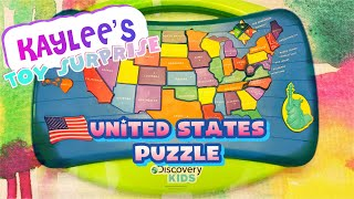 Discovery Kids United States Puzzle - Learn the States & their Capitals