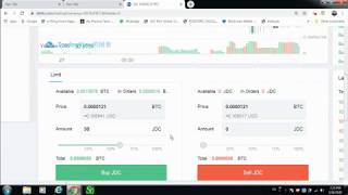 HOW TO BUY JD COIN FATBTC EXCHANGE